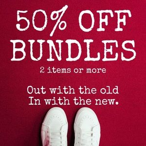 50% OFF BUNDLES - CLOSET SPRING CLEANING💋 SHARE❤️